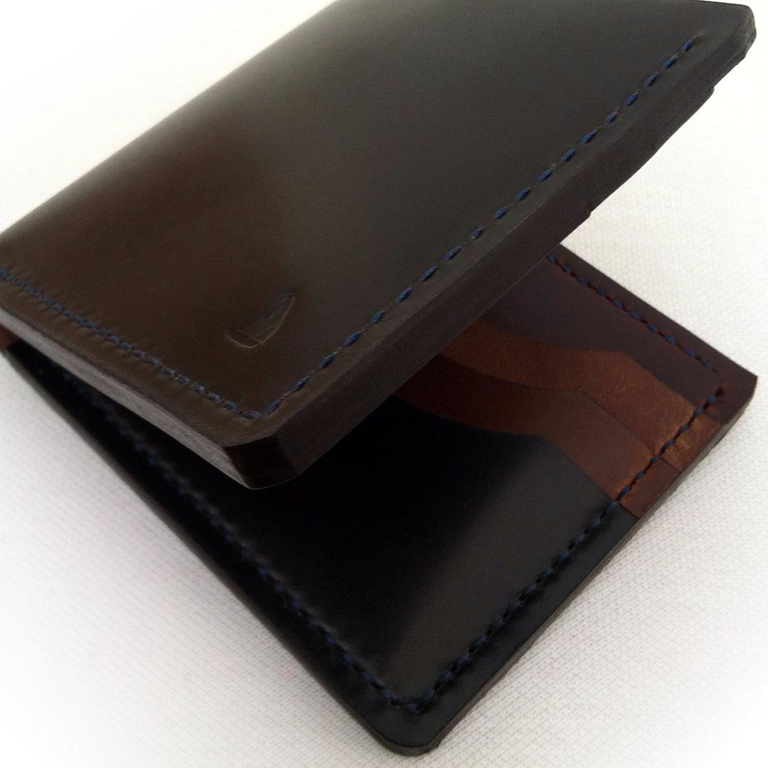 Shell Cordovan Leather Wallets J Michael Ashland Oregon