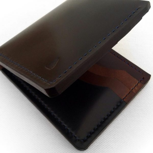 Chocolate brown mens wallet