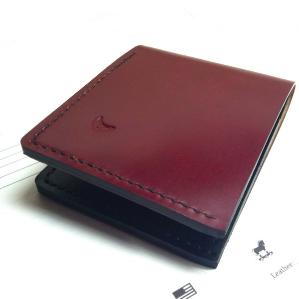 Shell Cordovan Bi-Fold Wallets