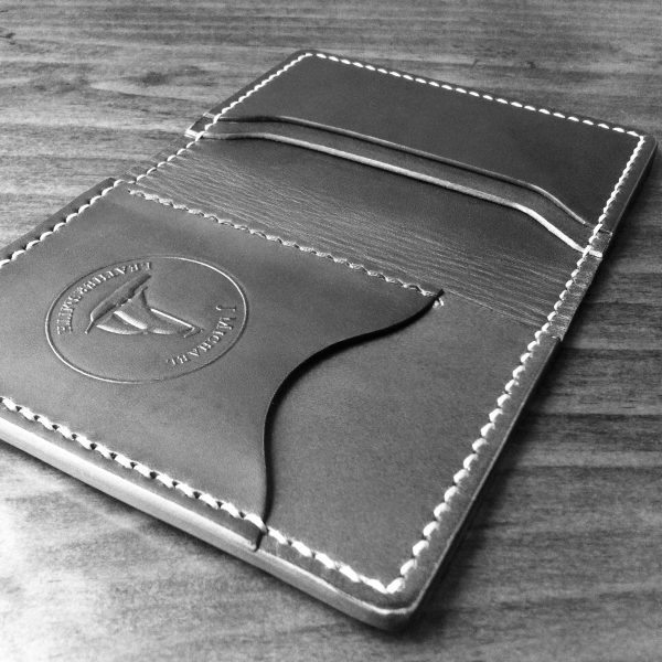 Full Grain leather front pocket wallet