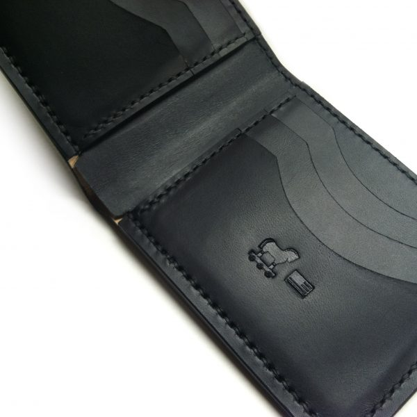 Luxury Leather Bi Fold Wallet