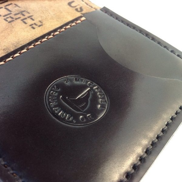 Made in America leather wallets