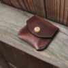 Small coin purse leather