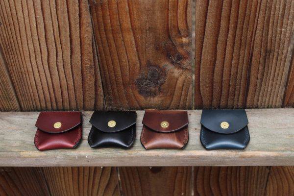 Women's leather coin purse